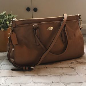 Camel Coach Satchel